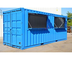 """6"""" Meter (20ft) Tuck-shop Container."""
