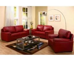 6 Seater Toni Red Sofa