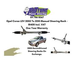Opel Corsa LDV 2005 To 2010 Model - OEM Manual Reconditioned Steering Racks