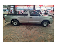 Toyota Hilux single cable
