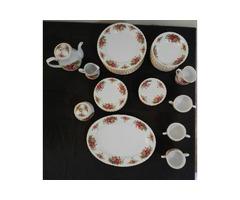 English Rose China Tea Set