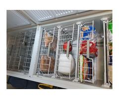 Freezer double door